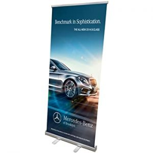 3′ x 8′ Full Color Banner with stand